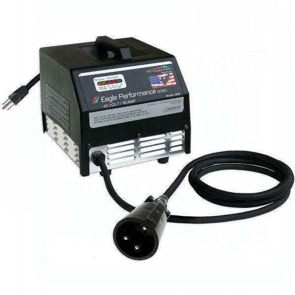 Smart Battery 48V or 36V Lithium Ion Golf Cart Battery Charger